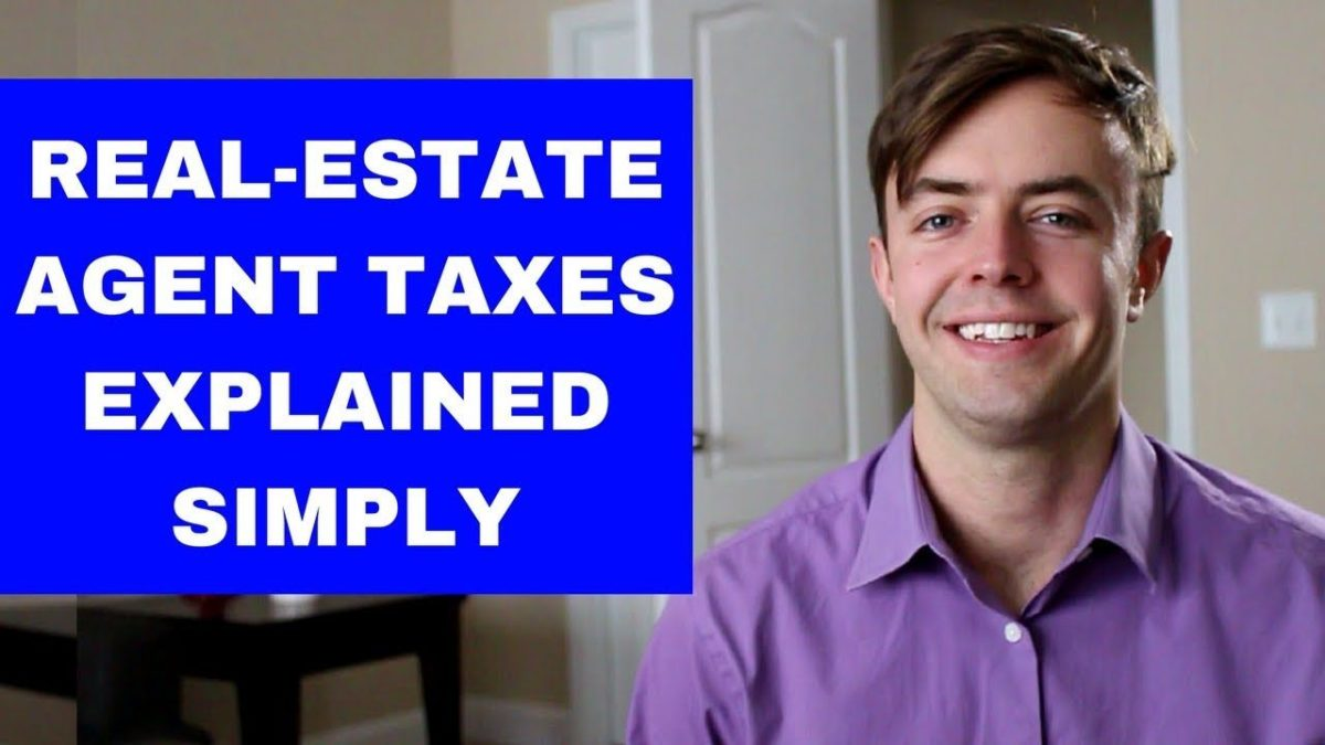 Real-Estate Agent Taxes (Outlined Simply)