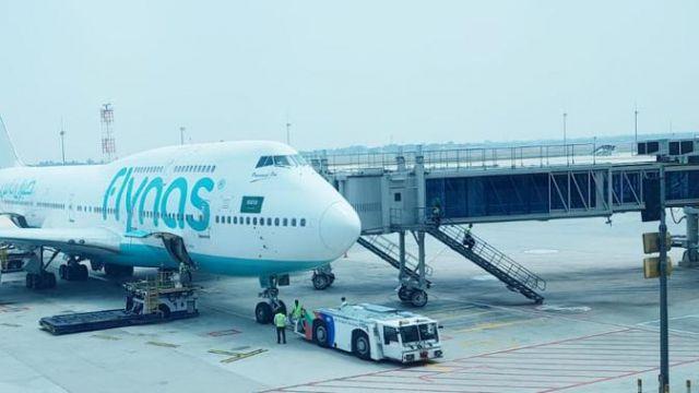 Flynas, Maskapai Asal Arab Saudi Mulai Terbang Perdana di RI