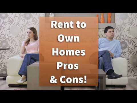 Rent to Own Homes – Pros and Cons