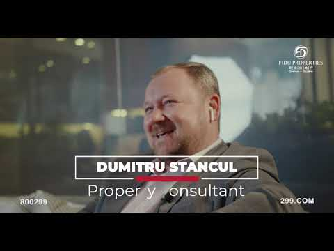 Meet Our Property Consultant Dumitru Stancul | FIDU Properties 2020